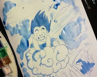 Dragon Ball Illustration