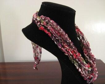 Trellis Necklace / Crochet Necklace Item No. N2
