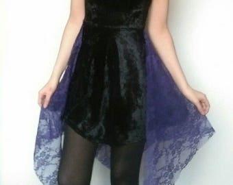 PITN Dress (Black & Purple)
