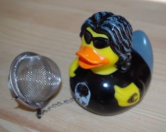 Duck rocker tea ball