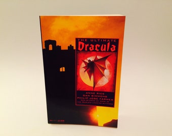 Vintage Horror Book The Ultimate Dracula 1991 Softcover Anthology