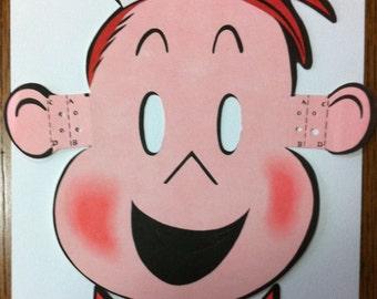Kleenex mask. lulu comics,kleenex ad advertising