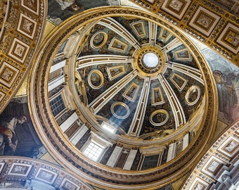 Italy Photography, St Peter's Basilica, Rome Architecture, Gallery Wall Art, Michael Evans, Summer In Italy, Romantic Italy, Abstract