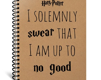 I Solemnly Swear that I am up to No Good, Harry Potter Gift