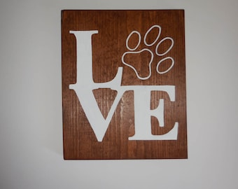 Pet Lover Home Decor, Pet Home Decor, Dog Home Decor, Wood Home Decor