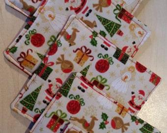 Christmas Coasters (set of 6)