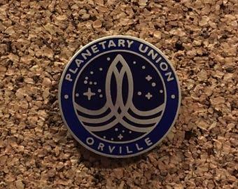 The Orville Planetary Union Insignia Logo Enamel Pin