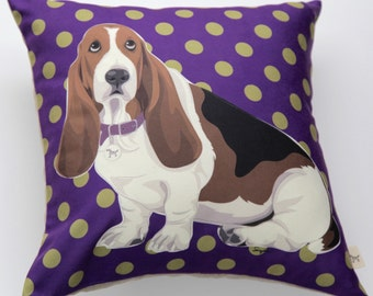 Basset Pillow