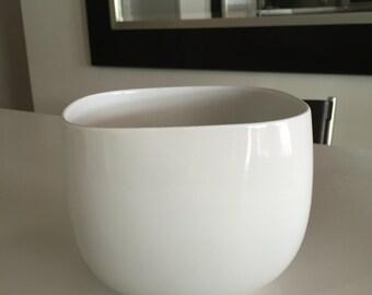 Rosenthal Studio Line/Suomi White Rosenthal Porcelain Bowl/Contemporary Modern Design /Timo Sarpaneva/White Bowl/ By Gatormom13