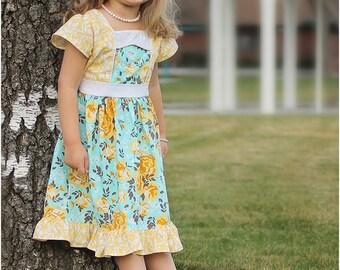 Primrose Dress Sewing Pattern: Girls Dress Sewing Pattern, Baby Dress Sewing Pattern