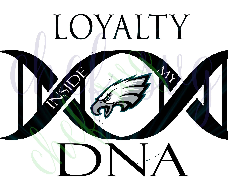 philadelphia eagles loyalty in my dna svg quote quote rh etsy com philadelphia eagles clipart free philadelphia eagles clip art free