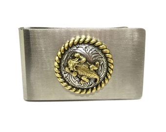 Horned Toad Money Clip