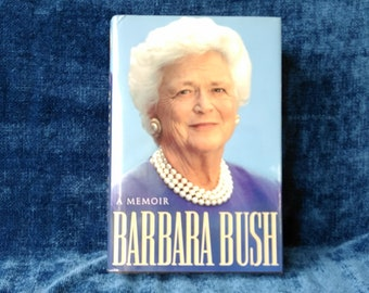Barbara Bush A Memoir 1994 Autobiography