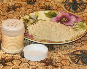 Cleansing Grains Sifter -Face/Body - Ground oats & flowers, clay, milk and honey powders with oils in refillable sifter.  1 Fl. oz.