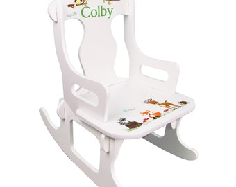 Quick View. More Colors. Personalized Childs Rocking Chair ...