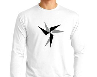 Circular Movement T-shirt Men Long Sleeve