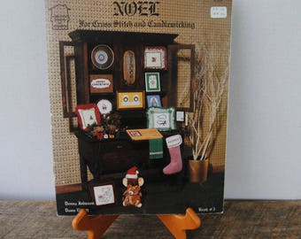 Noel for Cross Stitch and Candlewicking Homestead Designs 1983