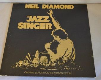 Vintage Gatefold Record Neil Diamond: The Jazz Singer SWAV-512120