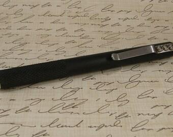 Parker Ballpoint Pen Black Aluminum 3477