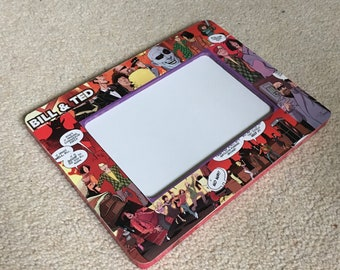 """Bill & Ted  (inspired) Themed 4"""" X 6"""" Picture Frame"""
