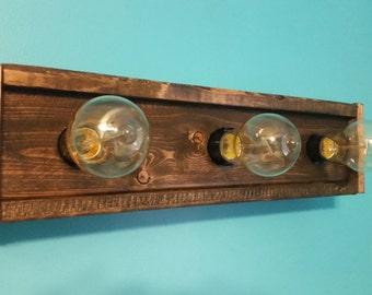 Rustic Light Fixture