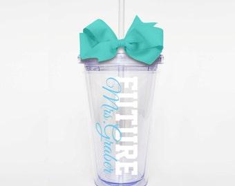 Future Bride - Acrylic Tumbler Personalized Cup