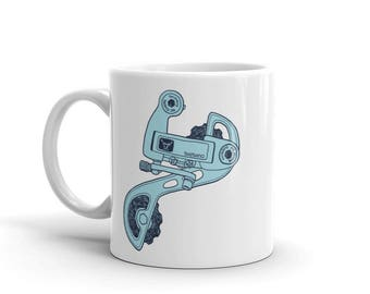 Deerhead Derailleur Mug (made in the USA)