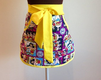 Wonder Woman Cosplay Hostess Apron