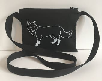 Fox Passport Bag Black