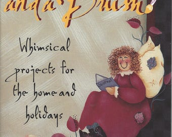 With a Wink and a Brush Whimsical Projects for the Home and Holidays by Molieve Null Tole Painting Book FI0317