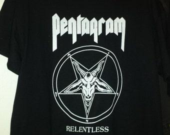 PENTAGRAM Black Metal Relentless T-SHIRT