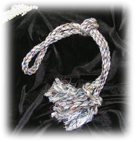 Large Rope DOG TOY . . Knotted Tug Toy . . DT111
