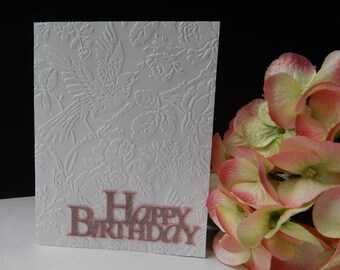 Singing Bird - Birthday Card with Envelope