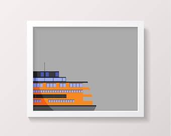 Staten Island Ferry Digital Download New York NYC