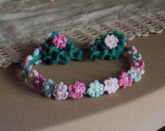 Crochet Girl's hair band