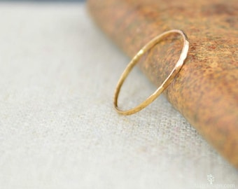 Real gold ring Etsy