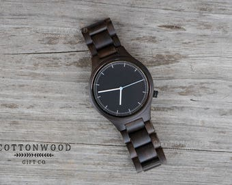 Fathers Day Gift, Husband Gift, Mens Wooden Watch, Wood Watches, Gifts for Him, Mens Gift, Boyfriend Gift, Gifts for Dad, Groomsmen Gift