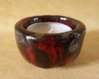Candle holder ceramic bowl - 1110-010