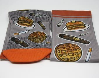 Sh'moke & a Pancake Socks | Austin Powers Socks