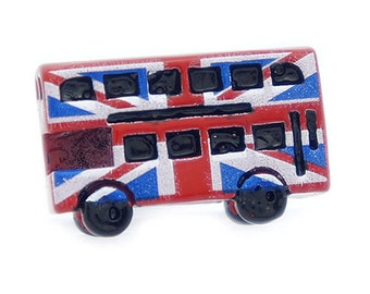 Union Jack Bus Cufflinks