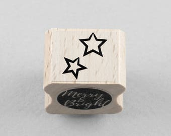 Rubber Stamp Little Star 1,5 x 1,5 cm