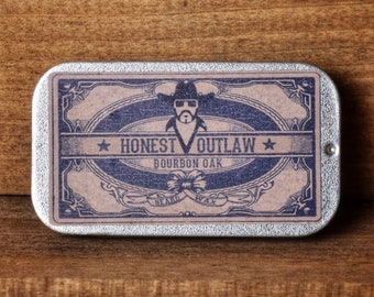 Honest Outlaw Bourbon Oak Moustache wax - Mustache wax - 20ml