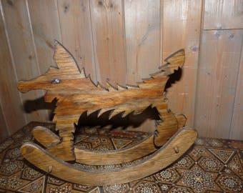 Decoration object: Arkaik Wolf