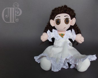 Christine Daae from the Phantom of the Opera Musical Doll Plushie Toy [READY TO SHIP]