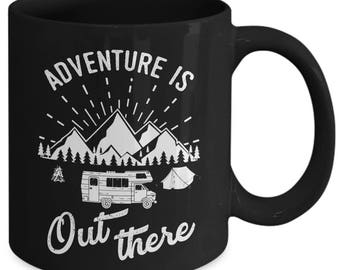 Adventure Is Out There Explore Wanderlust Coffee Mug