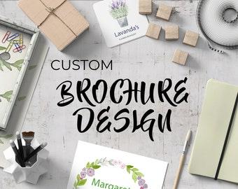 Custom Brochure Design Service - Catalog Design