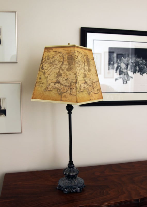 Custom Lamp Shade For Table Lamp Fabric Shade Gold Lamp