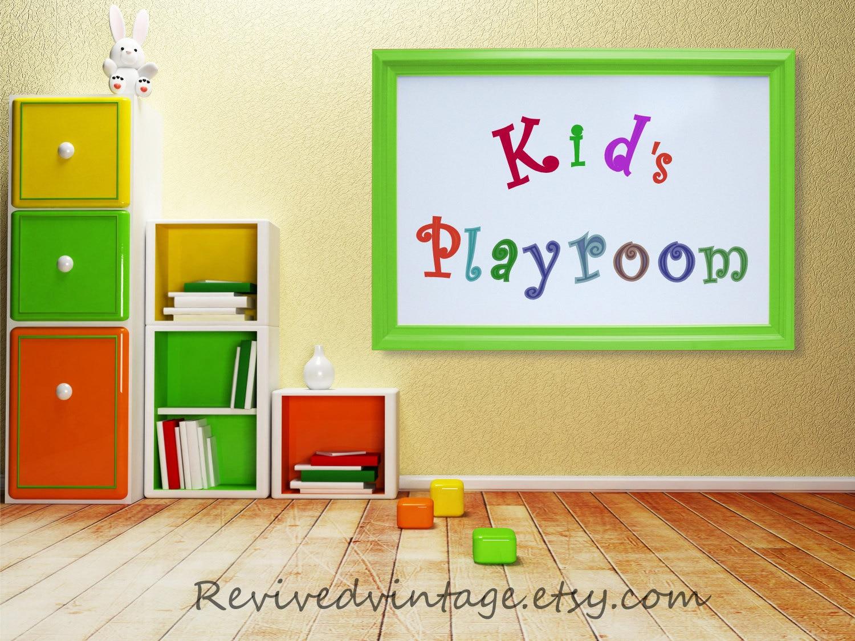 KIDS PLAYROOM DECOR Wall Art Decor Large Whiteboard