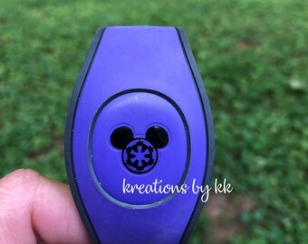Star Wars - Galatic Empire - Mickey Mouse - Mickey Icon - Walt Disney World -  Magic Band Decals
