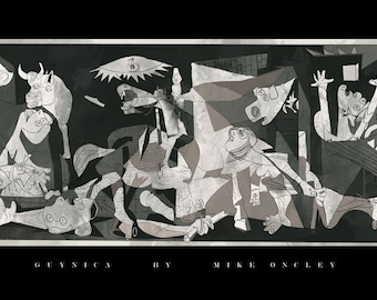 Family Guy vs. Picasso - Guynica - Art Print